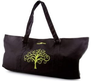e14b6ad4b903 The reason why this tote bag was created by Peace Yoga is that yoga is  supposed to be peaceful and without all the clutter. So does your mat  carrier should ...