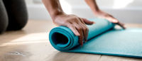Using Apple Cider Vinegar To Clean Yoga Mat