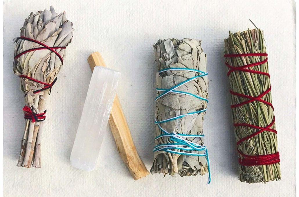 Alternative Imagination Blue Sage 4 Inch Smudge Sticks Pack of 3