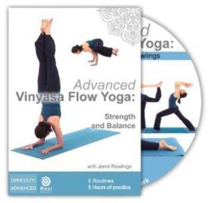 Advanced Vinyasa Flow Yoga: Strength and Balance by Jenny Rawlings
