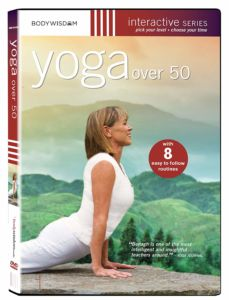 Yoga over 50 DVD by Barbara Benagh